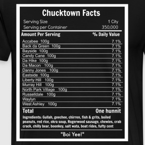 Chucktown Facts Tee - Men - Men's Premium T-Shirt