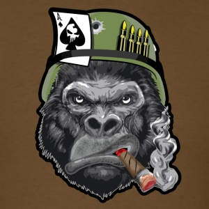 Smoking Gorilla T-Shirts - Men's T-Shirt