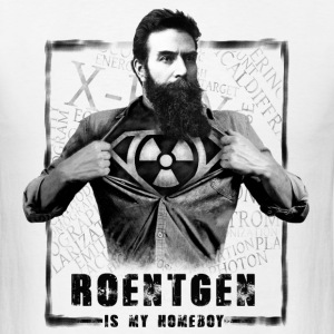 X-Ray T-Shirt - Roentgen Is My Homeboy Shirt - Men's T-Shirt