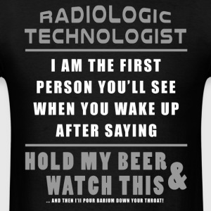 X-Ray T-Shirt - Hold My Beer And Watch This - Men's T-Shirt