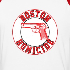 Boston Homicide - Baseball T-Shirt