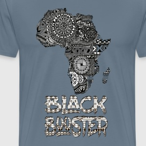black Booster Africa - Men's Premium T-Shirt