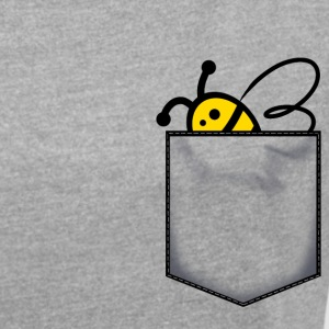 Bee b. in my pocket - Women's Roll Cuff T-Shirt