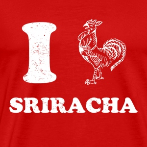 I Love Sriracha - Men's Premium T-Shirt
