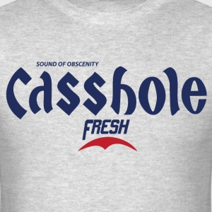 Casshole - K-Pop Fan Korean Beer Parody Shirt - Men's T-Shirt