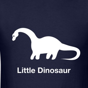 Little Dinosaur (Design by Sarim) White - Men's T-Shirt