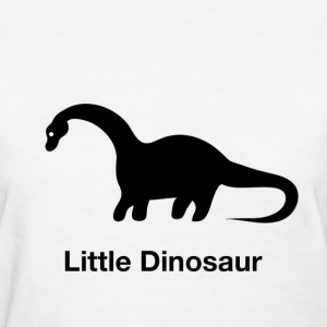 Little Dinosaur (Design by Sarim) White - Women's T-Shirt