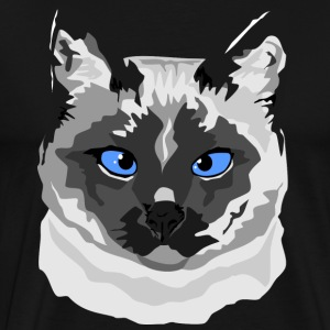 Siamese Cat - Men's - Men's Premium T-Shirt