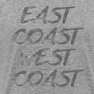 EAST COAST WEST COAST GRAPHIC TEE - Men's Premium T-Shirt
