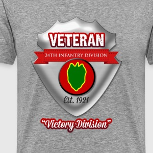 Veteran 24th Infantry Division - Men's Premium T-Shirt