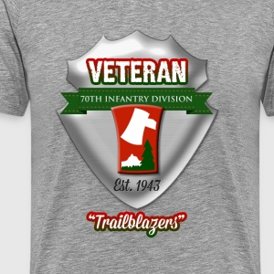 Veteran: 70th Infantry Division - Men's Premium T-Shirt
