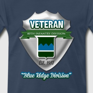 Veteran 80th Infantry Division - Men's Premium T-Shirt