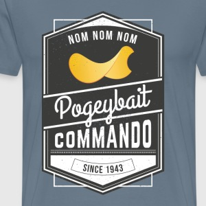 Pogeybait Commando - Men's Premium T-Shirt