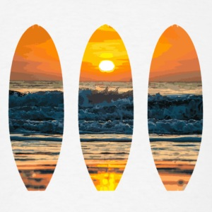 Surf Sunset - Men's T-Shirt