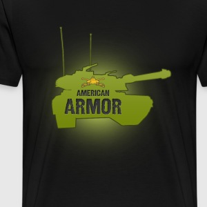 American Armor Black - Men's Premium T-Shirt