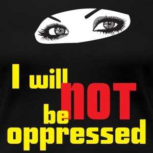 Free Expression, No Oppression - Women's Premium T-Shirt