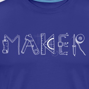 Maker! - Men's Premium T-Shirt