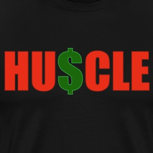 Mens HU$CLE Tee - Men's Premium T-Shirt