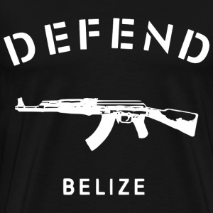 Defend Belize T Shirt - Men's Premium T-Shirt