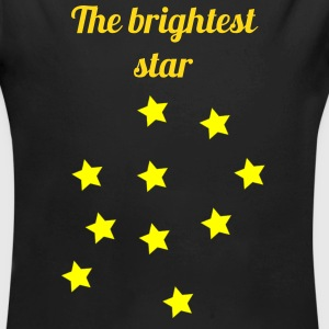 The brightest star - Long Sleeve Baby Bodysuit