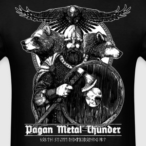 Pagan Metal Thunder - Men's T-Shirt