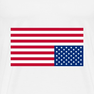 Upside Down Flag - Men's Premium T-Shirt
