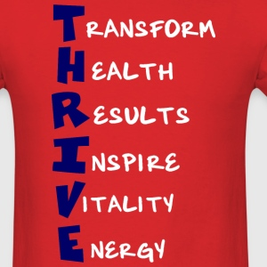 Unisex T-Shirt - Thrive Meaning - Men's T-Shirt