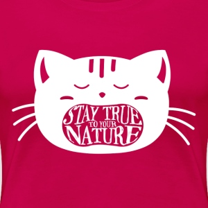 True Nature Women's Pink - Women's Premium T-Shirt
