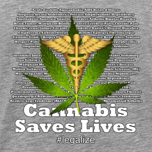 Cannabis Saves Lives - Men's Premium T-Shirt