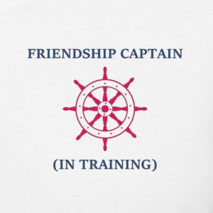 Friendship Captain - Mens - Women's V-Neck T-Shirt