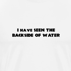 Backside of Water - Mens - Men's Premium T-Shirt