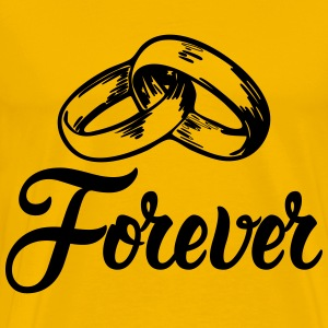 Forever Wedding Bands T-Shirts - Men's Premium T-Shirt