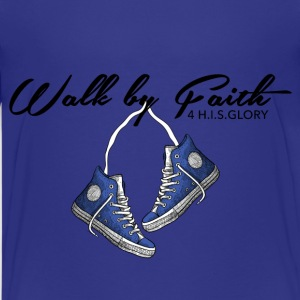4 H.I.S.Glory's Walk by Faith 2  Big Women T-Shi - Kids' Premium T-Shirt