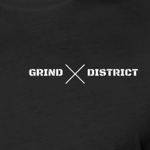 Grind District Basic Performance Tee - Fitted Cotton/Poly T-Shirt by Next Level