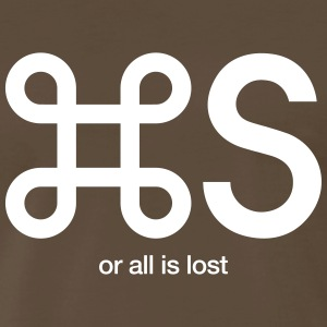 Save or all is lost - Men's Premium T-Shirt