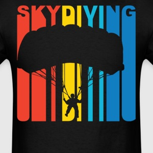Skydiver Silhouette Skydiving T-Shirt - Men's T-Shirt