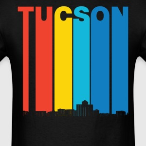 Vintage Tucson Arizona Skyline T-Shirt - Men's T-Shirt