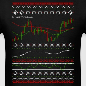 Ugly Chart - Happy Holidays - Men's T-Shirt