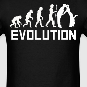 Groom Evolution Funny Marriage Shirt - Men's T-Shirt