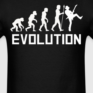 Guitarist Evolution Funny Guitar Shirt - Men's T-Shirt