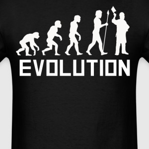 Butcher Evolution Funny Butcher Shirt - Men's T-Shirt