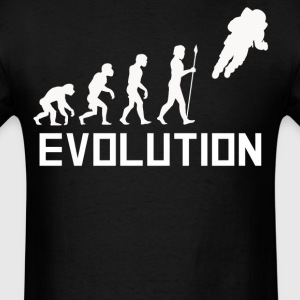 Astronaut Floating Away Evolution Space Shirt - Men's T-Shirt