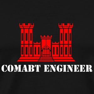 US Combat Engineer - Men's Premium T-Shirt
