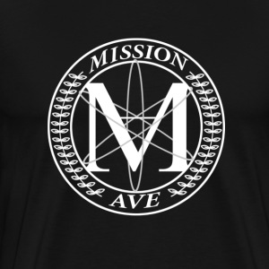 Black Mission Ave S/S Tee - Men's Premium T-Shirt