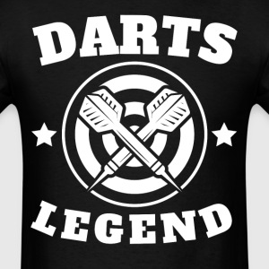 Darts Legend Retro Darts - Men's T-Shirt