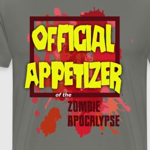 Men's Dark Zombie Appetizer - Men's Premium T-Shirt