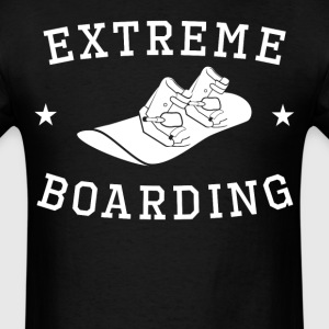 Extreme Boarding Snowboarding - Men's T-Shirt