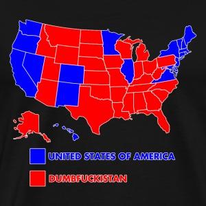 Shop Antidemocrat TShirts Online Spreadshirt - Tee shirt us map dumbfuckistan