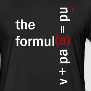 the Formula T - Fitted Cotton/Poly T-Shirt by Next Level