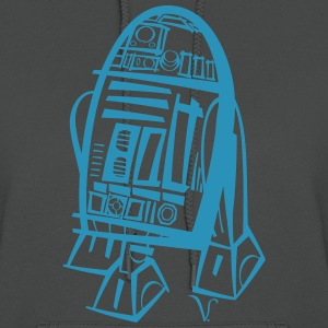 R2D2 [Artist Rendering 4] Women's Hooded Sweatshir - Women's Hoodie